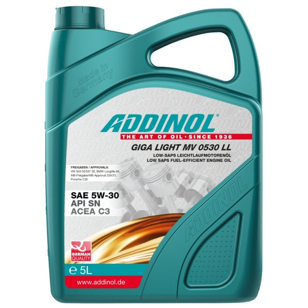 Addinol Giga Light 0530 LL 5L